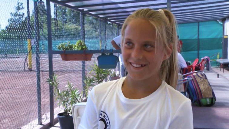 a 13 éves Udvardy Luca Grand Slam-tornát szeretne nyerni
