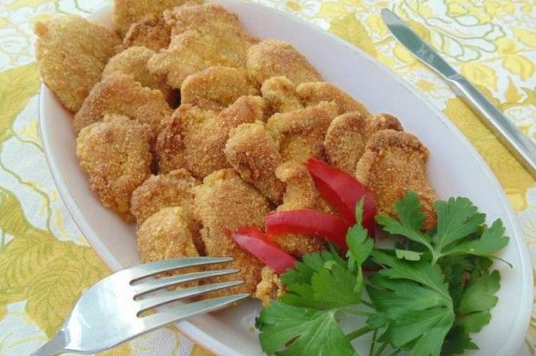 Laskagomba tortillachips-bundában