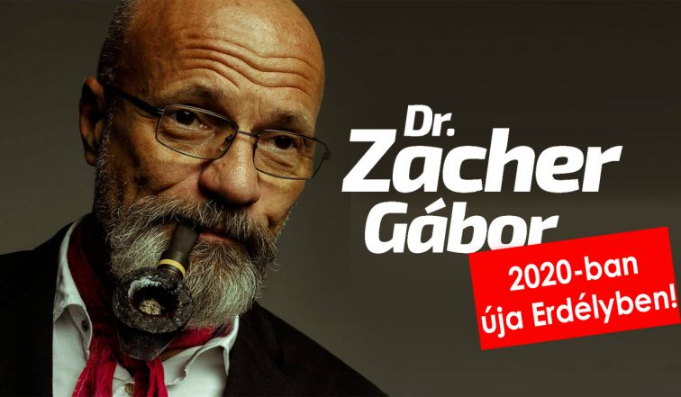 Dr. Zacher Gábor újra Erdélyben